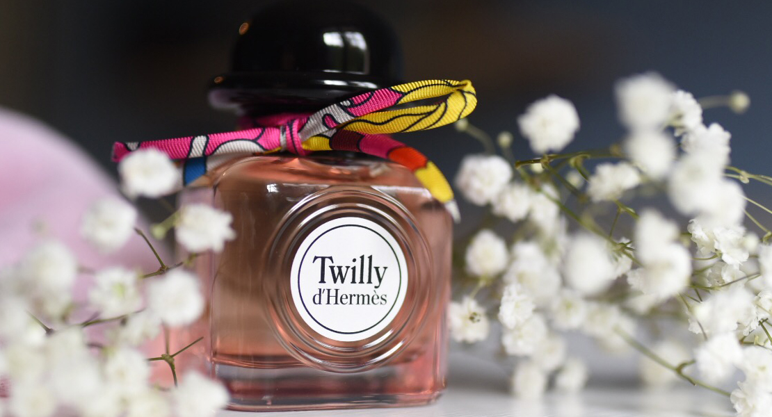 Photo d'un flacon de Twilly d'Hermès sur Swanee Rose Le Blog