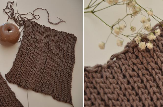 Photo des manches pour veste au crochet sur Swanee Rose Le Blog