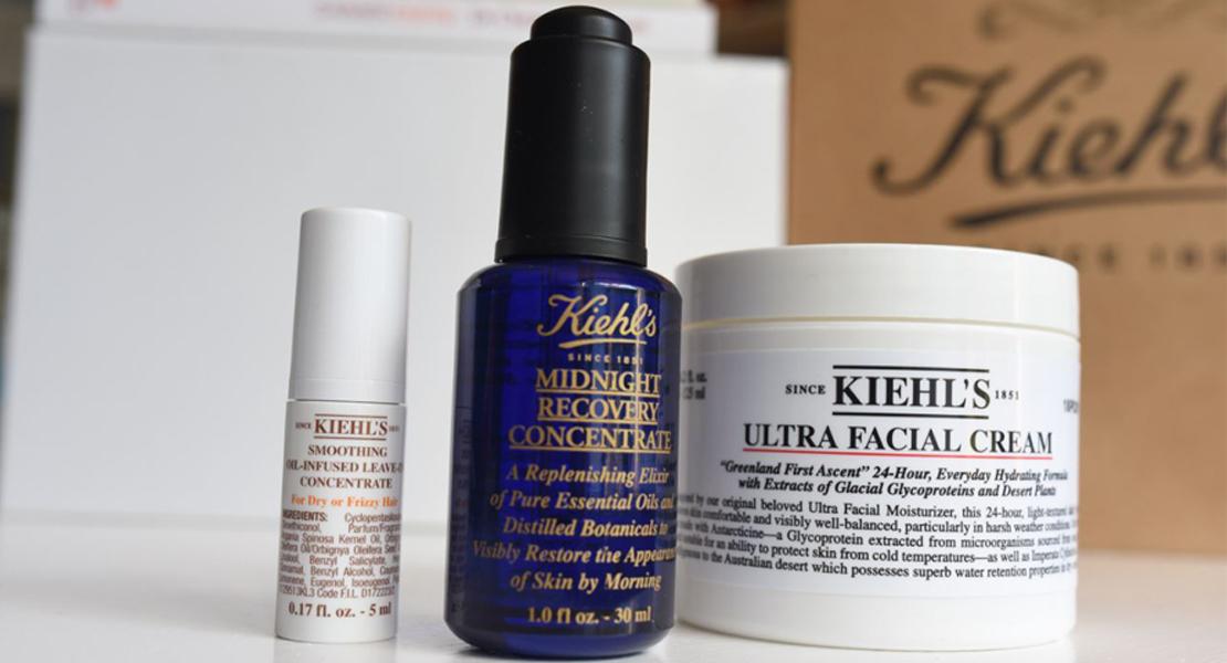 Photo de 2 produits Marque Kiehl(s sur Swanee Rose Le Blog