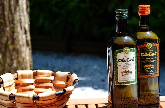 Duo d'huiles d'olive Fratelli Carli pour ma cuisine d'été sur Swanee Rose Le Blog