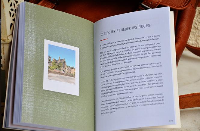 Photo d'une double page du Livre du lykke sur Swanee Rose Le Blog