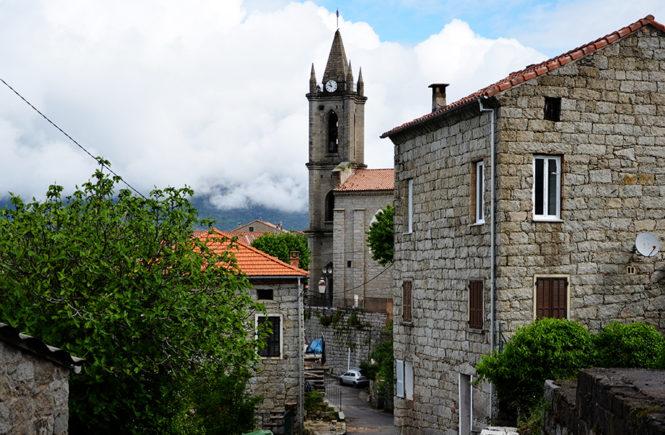 Village de Zonza en Corse du Sud