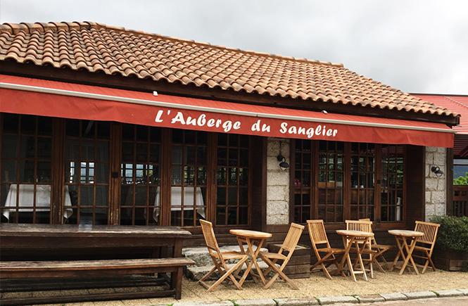 Auberge du sanglier Restaurant à Zonza Corse
