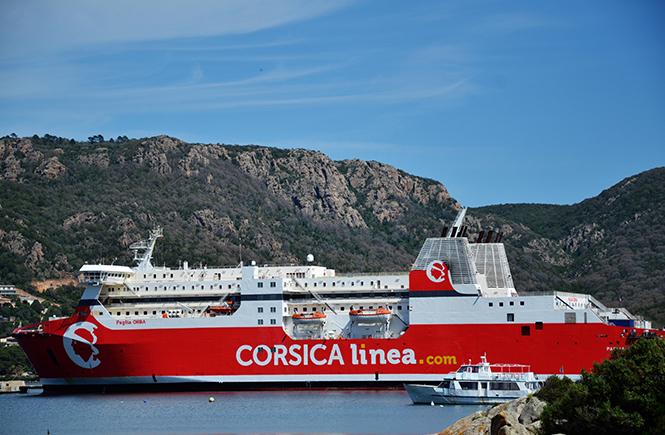 Ferry Paglia Orba de la Corsica Linea