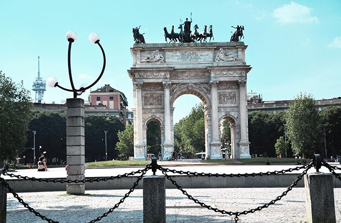 Arc-de-triomphe-Milan