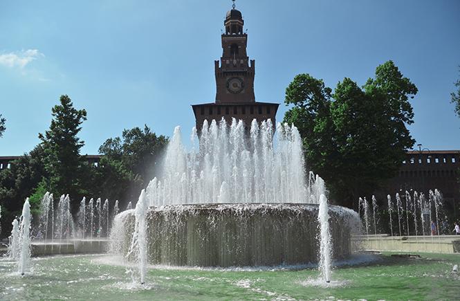 castello-sforzesco Milan
