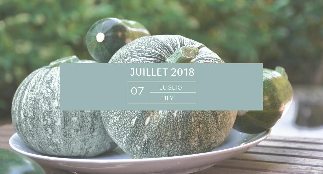 Mon agenda de JUILLET