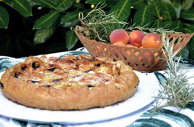 tarte-abricots-romarin