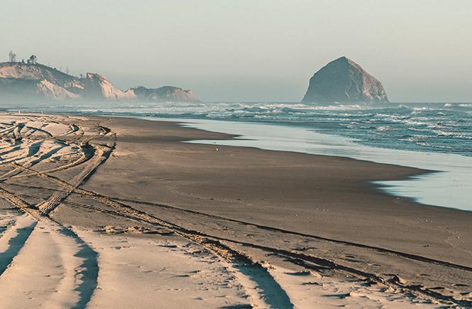 Une plage désertée après le 15 août