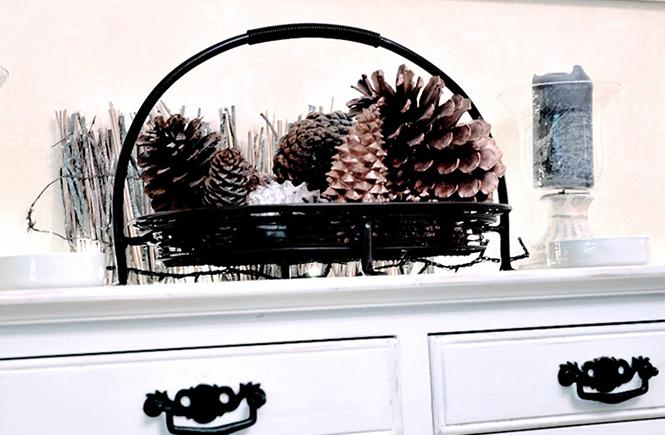 Détail de décoration d'automne
