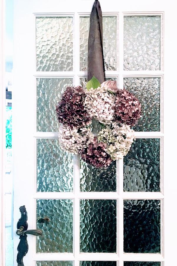 Couronne d'automne sur Swanee Rose Le Blog