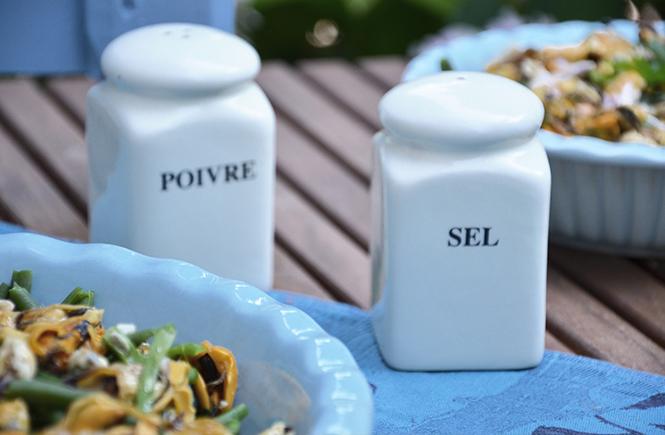 salade-de-haricots-verts-à-la-vinaigrette-de-moules