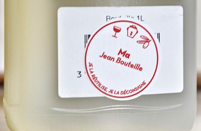 Etiquette Ma Jean Bouteille