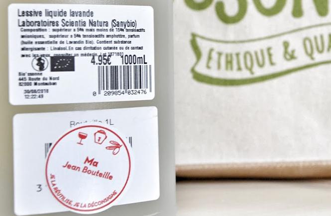 Lessive liquide bio à la lavande Biossonne Montauban