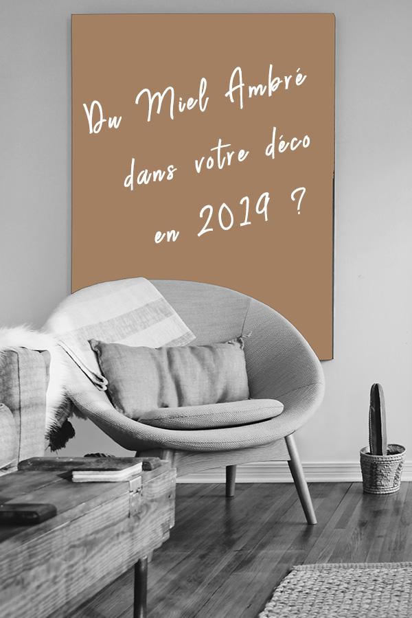 Miel Ambré Couleur de l'année 2019 par Dulux