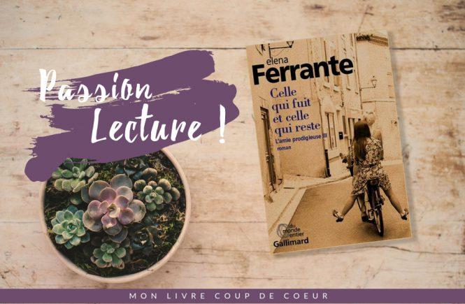 Livre Celle qui fuit Elena Ferrante