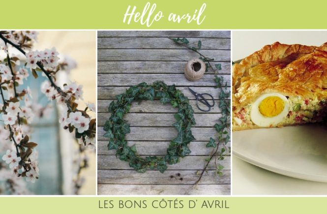 Photo du moodboard d'avril 2018 sur Swanee Rose Le Blog