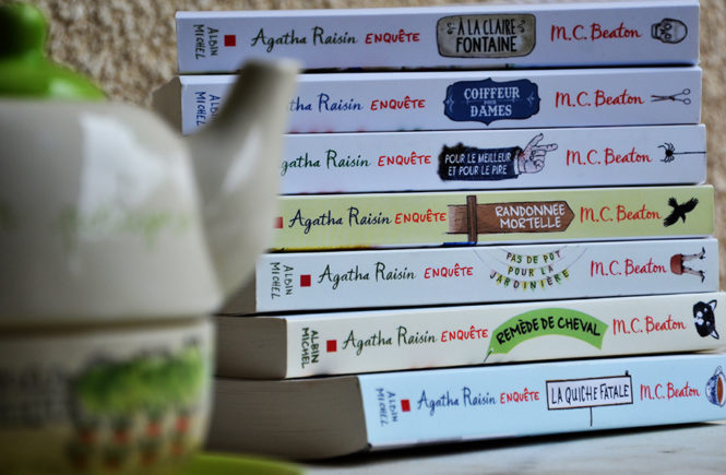 Collection Agatha Raisin enquête par MC Beaton sur Swanee Rose Le Blog