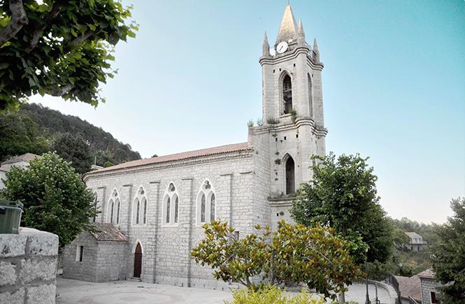 Eglise de Zonza Corse
