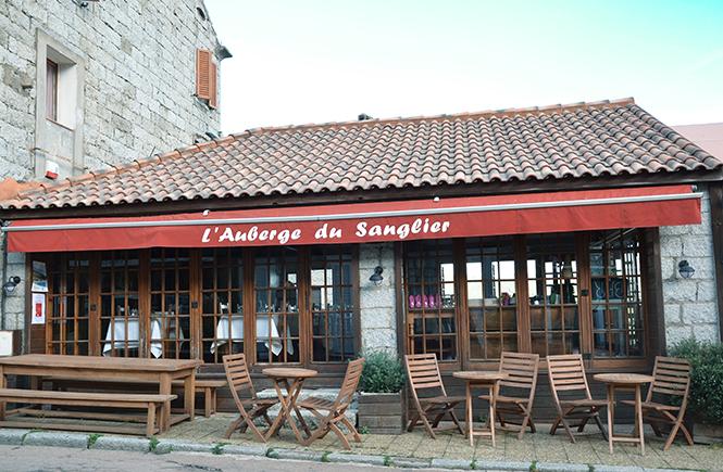 L'Auberge du Sanglier Zonza Corse