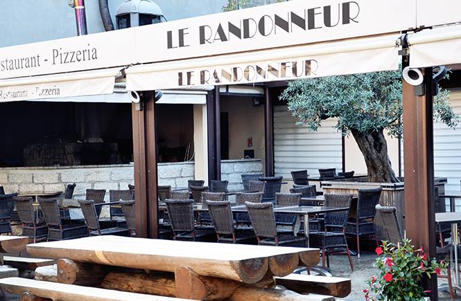 Restaurant Pizzeria Le Randonneur Zonza Corse du Sud
