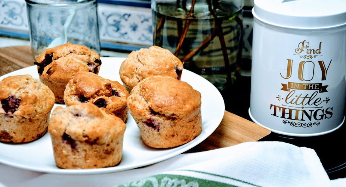 Muffins framboises cranberries flocons avoine sur Swanee Rose Le Blog