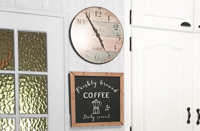 DIY Enseigne Vintage Café frais