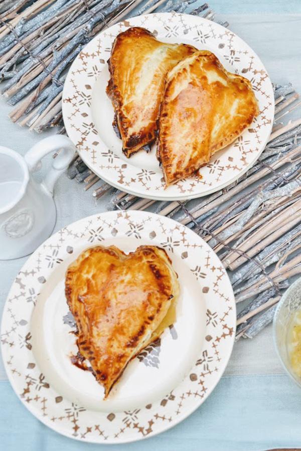 Recette des chaussons Pommes Poires sur Swanee Rose Le Blog