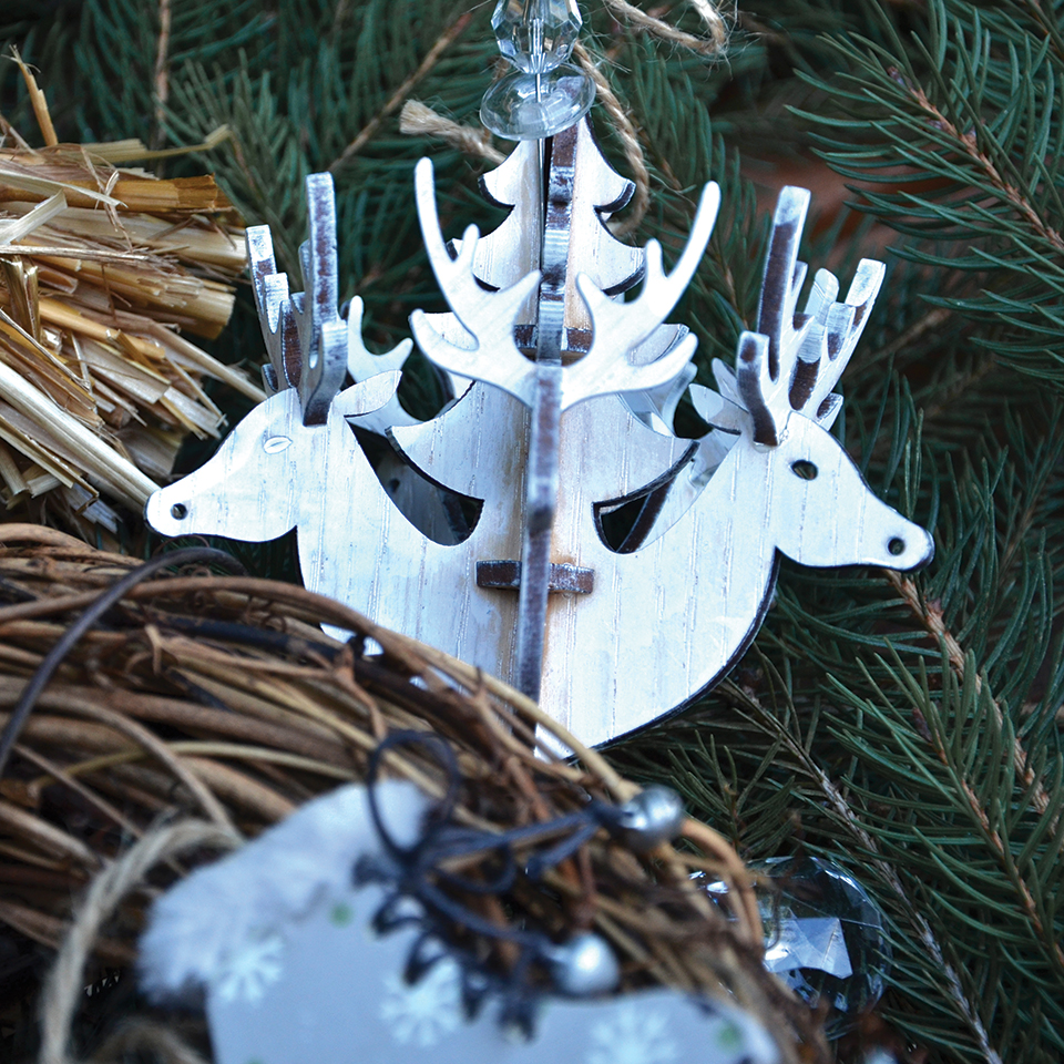 DIY Couronne de Noël