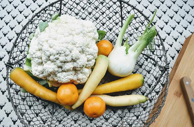 Légumes pour Velouté de chou-fleur et lentilles corail au curcuma sur Swanee Rose Le Blog