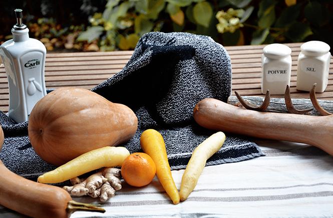 Velouté de butternut et patate douce