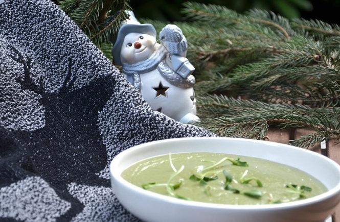 Recette Crème de brocolis et épinards au pesto sur Swanee Rose Le Blog