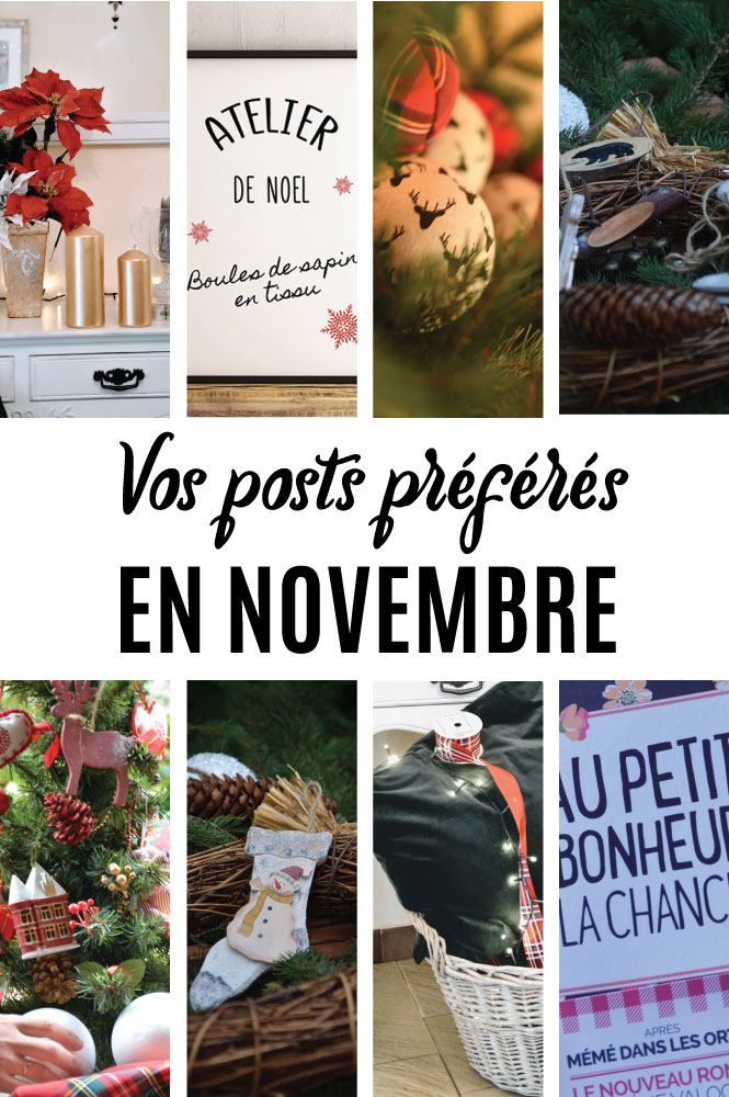 Posts préférés en octobre sur Swanee Rose Le Blog