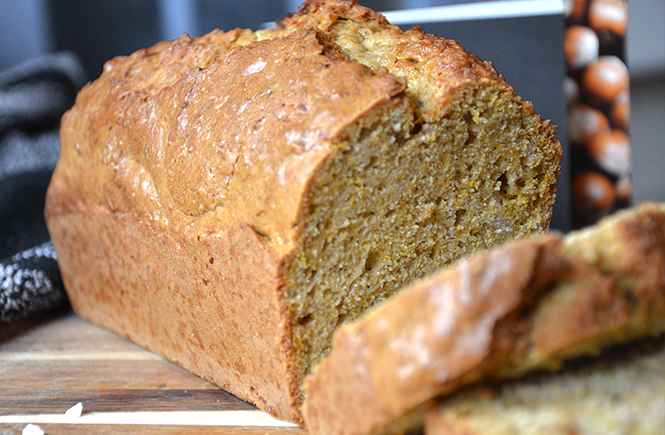 recette du carrot cake au gingembre confit