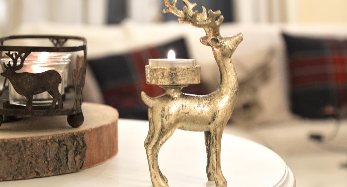 Rennes et caribous pour décorer la maison en hiver