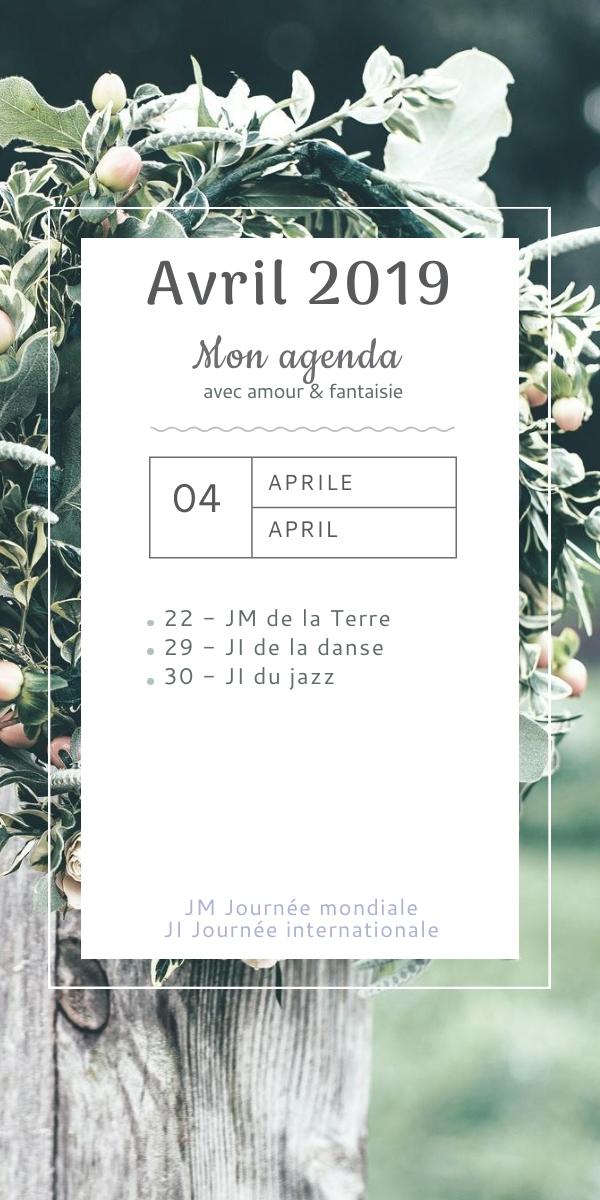 Mon agenda de février