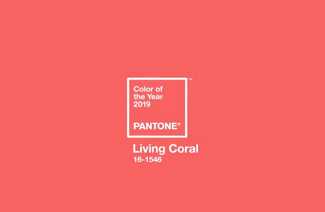 Living Coral par Pantone