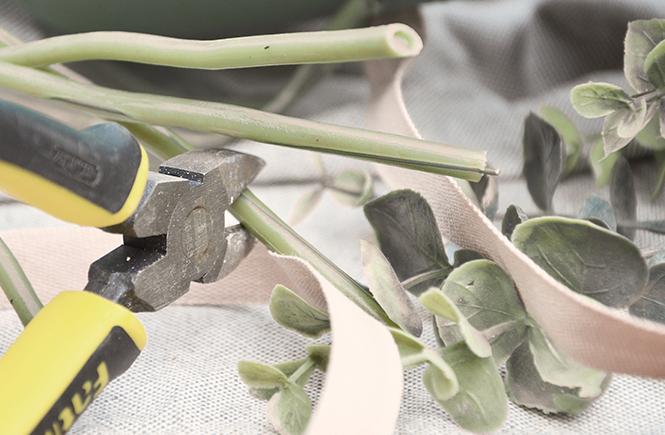 DIY Panier de porte fleuri Swanee Rose Le Blog