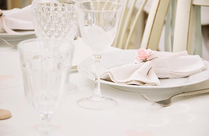 Pliage facile pour serviettes champêtres sur Swanee Rose Le Blog