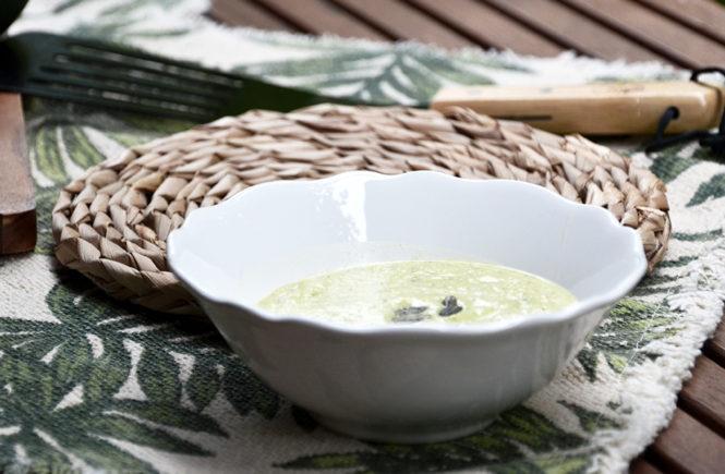 Recette Crème Courgettes Menthe Feta