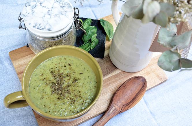 Recette Velouté Courgettes Basilic Gorgonzola
