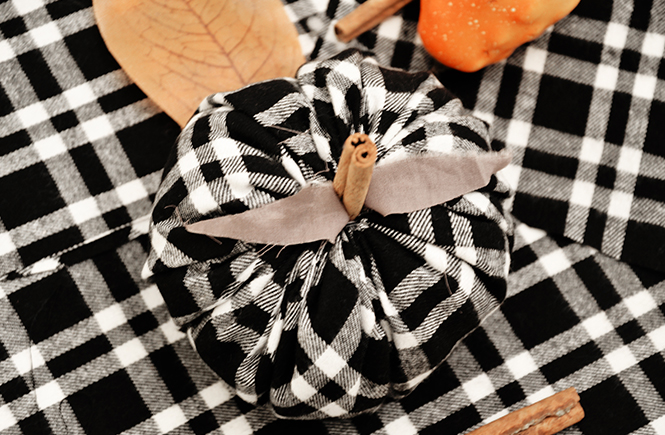 DIY Black and White Pumpkins