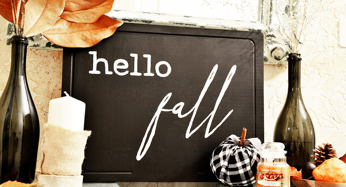 DIY Enseigne Hello Fall