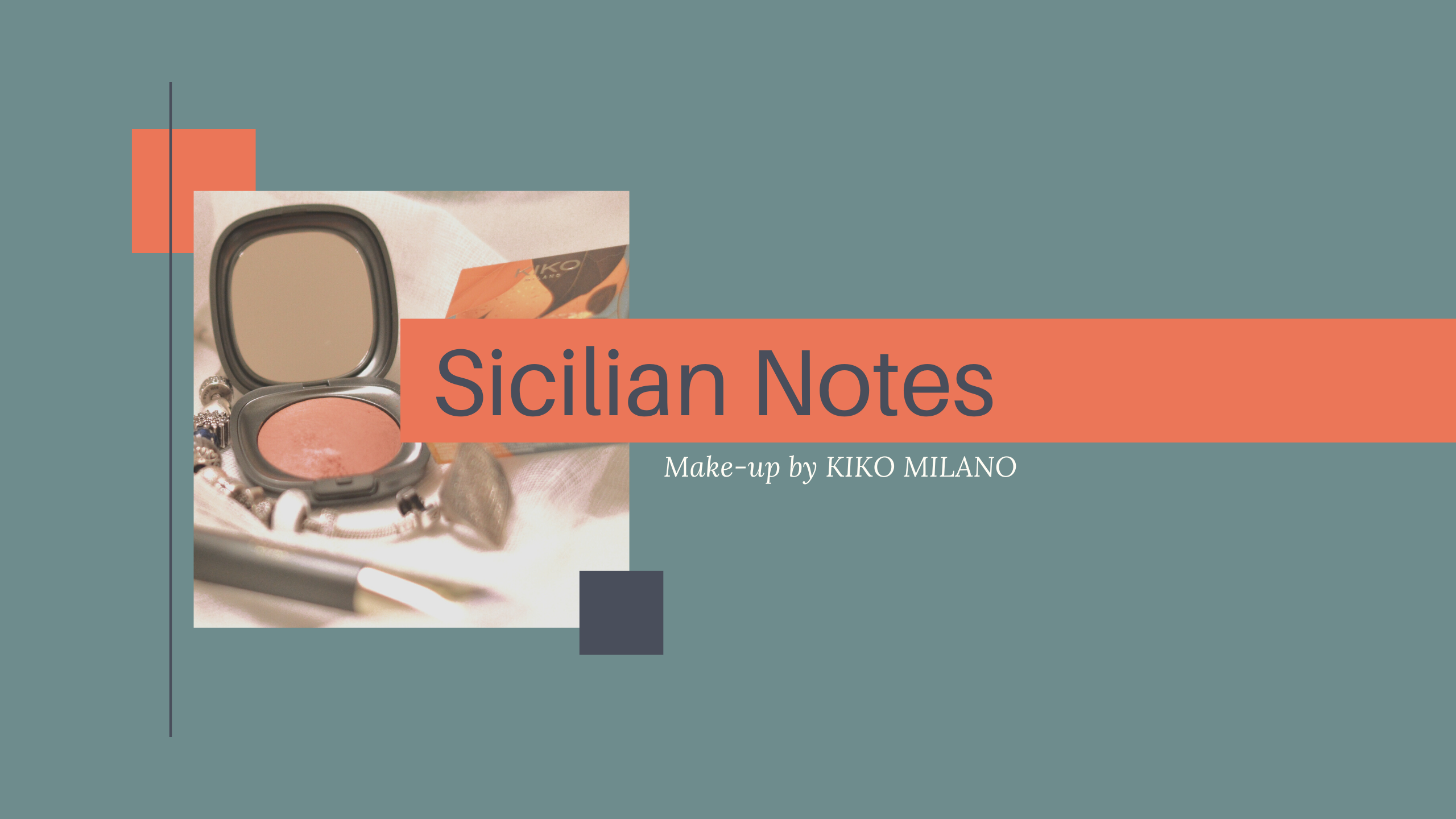 Sicilian Notes Kiko Milano