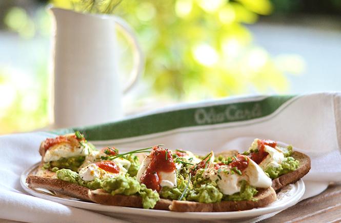 Avocado toasts à la burrata sur Swanee Rose Le Blog
