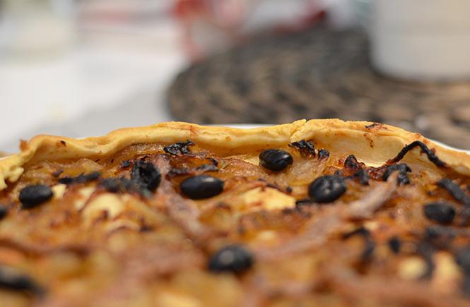Pissaladière provençale sur Swanee Rose Le Blog