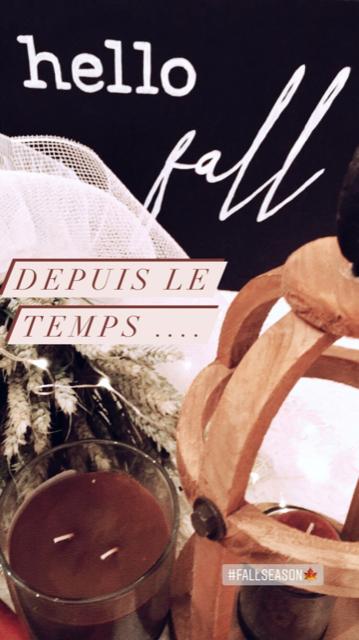 Bougies flamboyantes pour un automne douillet
