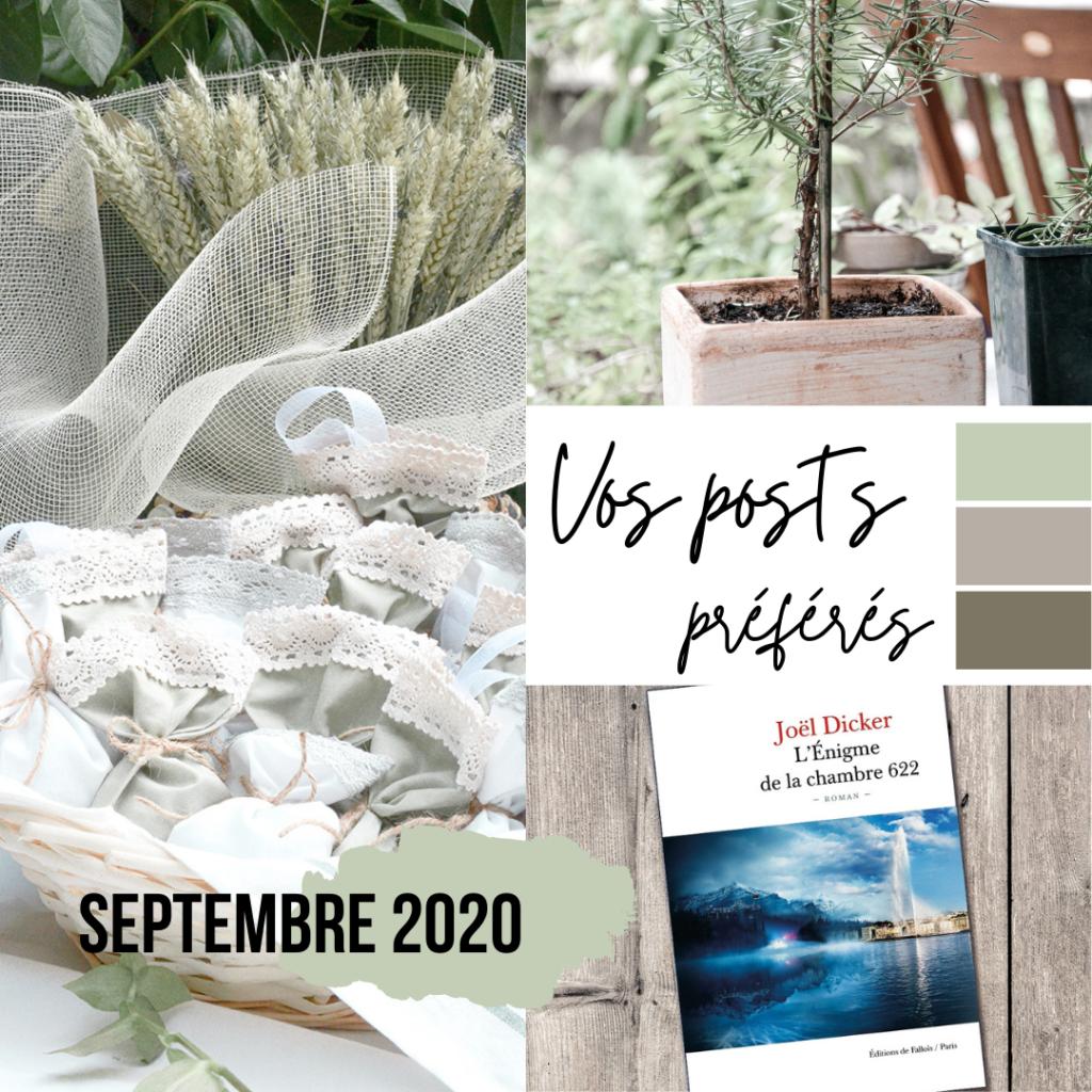 Posts préféés Septembre 2020 sur Swanee Rose Le Blog