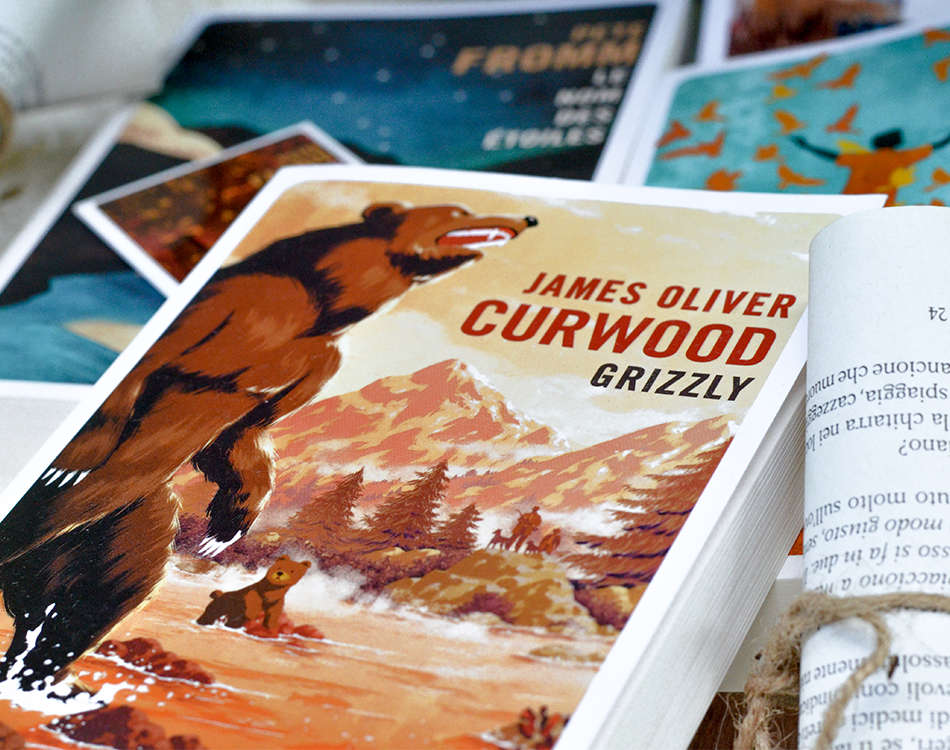 Grizzly de James Oliver Curwood aux Editions Gallmeister