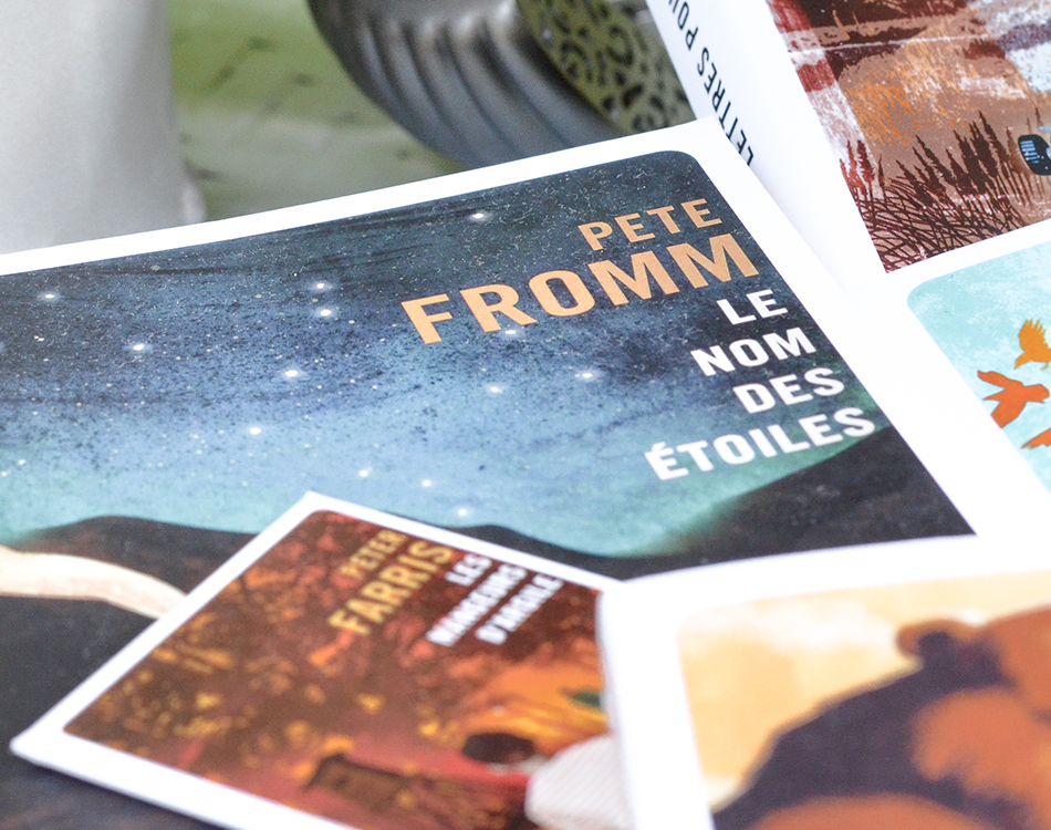 Le nom dees étoiles de Pete Fromm aux Editions Gallmeister